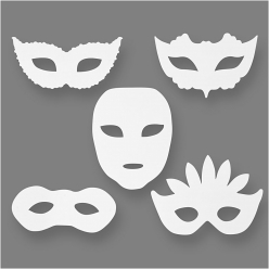 masques de theatre 16 pieces