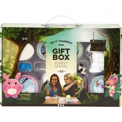 animaux de la foret set complet creative giftbox
