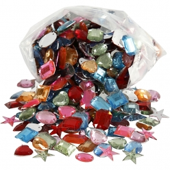 pierre de strass percees 15  17 mm assortiment 800 pieces