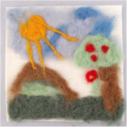 needle felting kit  school class pack