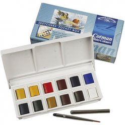 set aquarelle cotman