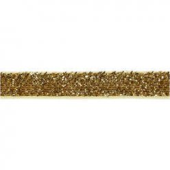 ruban de decoratio avec fil brillant 5x10mm