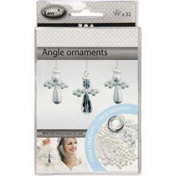 kit ornement ange 28 cm 32 pieces