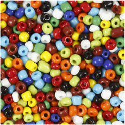 mix de perles rocailles 1kg 4mm