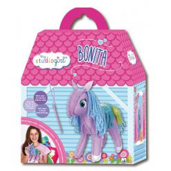 kit couture en feutrine poney bonita