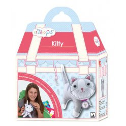 kit couture en feutrine chat kitty