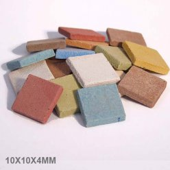 mosaique byzantic melange multicolor 10x10x4mm