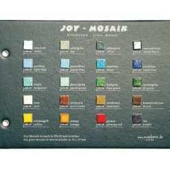 nuancier mosaique en verre joy