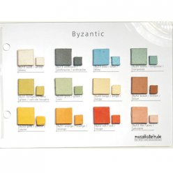 nuancier mosaique byzantic