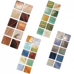 mosaique verre joy deluxe assortiment 20x20x4mm