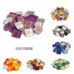 mosaique soft glas assortiment 10x10x4mm