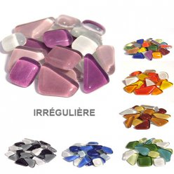 mosaique soft glas irreguliere assortiment