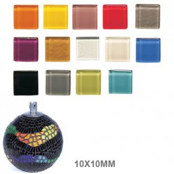 mosaique soft glas 10x10x4mm