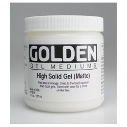 gel haute consistance mat golden 236 ml