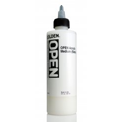 open acrylic medium  matte 236 ml