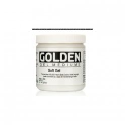 soft gel mat golden 236 ml