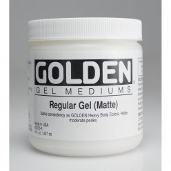 gel de base mat golden 236 ml