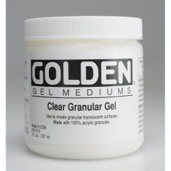 gel acrylique a grains cristallins golden 236 ml