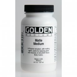 medium mat golden 236 ml