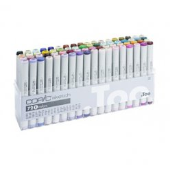 set copic sketch e  72 couleurs