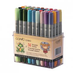 set copic ciao  36 couleurs vives