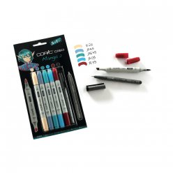 set 51 copic ciao manga 2 avec multiliner
