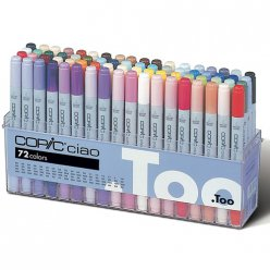 set copic ciao a  72 couleurs
