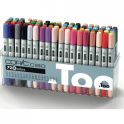 set copic ciao b  72 couleurs