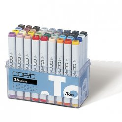 set copic marker  36 couleurs