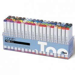 set copic marker a  72 couleurs