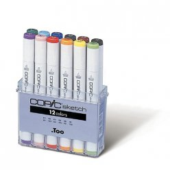 set copic sketch 12 couleurs