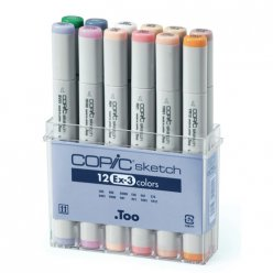 set copic sketch 12 couleurs pastels ex  3