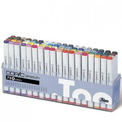 set copic sketch a  72 couleurs