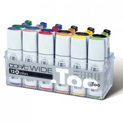 copic wide 12 marqueurs 12 encres set a