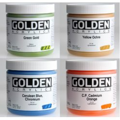 couleurs epaisses golden heavy body 473 ml