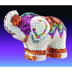 kit sequin 3d  elephant