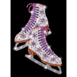 art sequin patins a glace