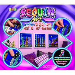 kit art sequin style  trio new york
