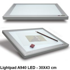 table lumineuse lightpad a940 led 30 x 43 cm