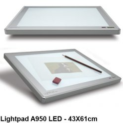 table lumineuse lightpad a950 led 43 x 61 cm