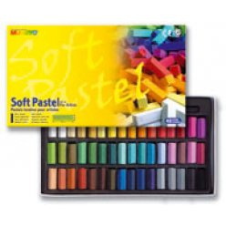 soft pastel mungyo 48 mini pastel secs carres assortis