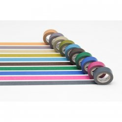 set de 10 washi tape mt 15mm unis dark color 2