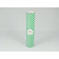 mt casa 20 cmx10m raye stripe green