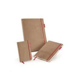 sensebook red rubber carnet a ruban quadrille
