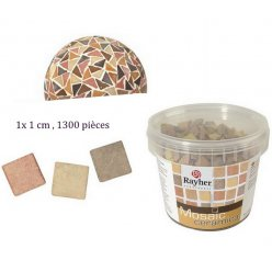 mosaique ceramica light 1x1 cm 1300 pieces