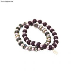 kit bracelet lucienne lilas