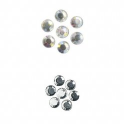 pierres strass en verre thermofixable4 mm