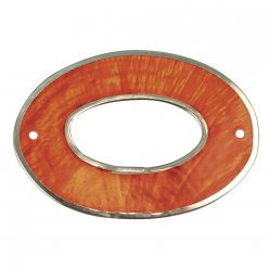 element nacre ovale 40x28mm