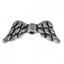 ornement en metal ailes 20mm o 2 pieces