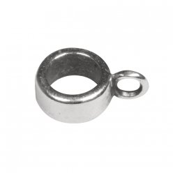 ornement metal avec oeillet rond o8mm